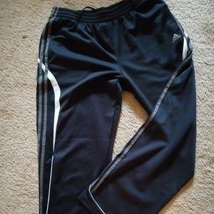 Adidas Clima365 Track Pants Black White Gray L